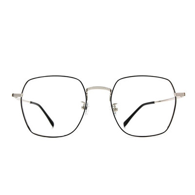 a/p lab▼時尚設計方框眼鏡 極光銀