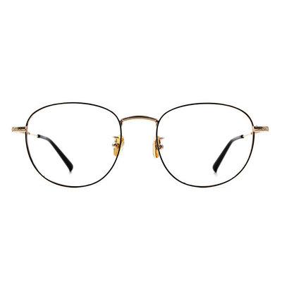 a/p lab▼時尚設計橢圓框眼鏡 經典金