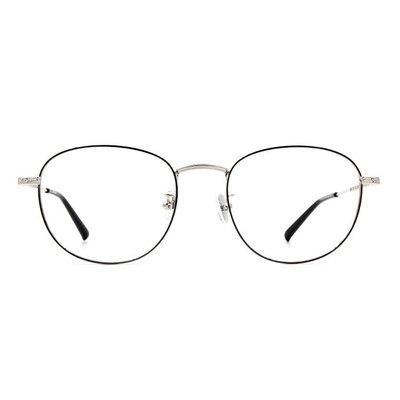 a/p lab▼時尚設計橢圓框眼鏡 太空銀