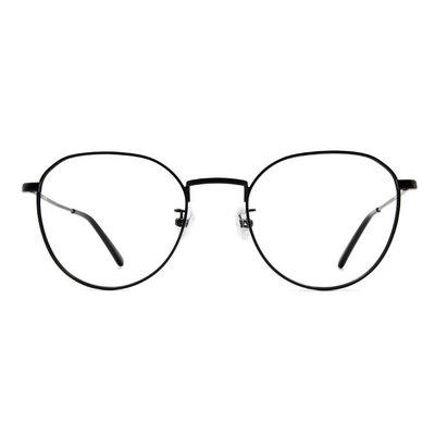 a/p lab▼時尚設計圓方框眼鏡 沉穩黑