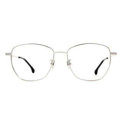 a/p lab▼時尚設計多邊框眼鏡 鋼質銀