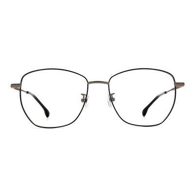 a/p lab▼時尚設計多邊框眼鏡 月夜黑