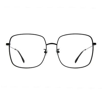 a/p lab▼時尚設計大方框眼鏡 潮流黑