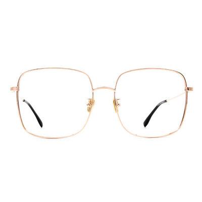 a/p lab▼時尚設計大方框眼鏡 彩霞金