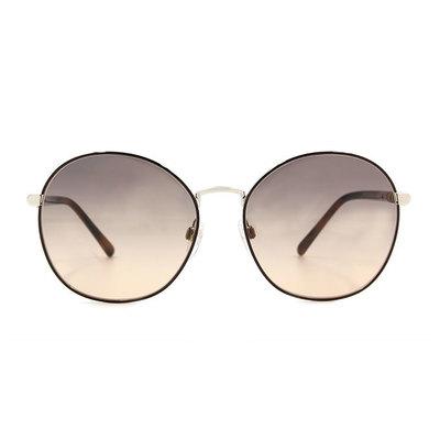 BURBERRY 經典圖騰款眼鏡墨鏡圓框眼鏡墨鏡   布朗尼棕