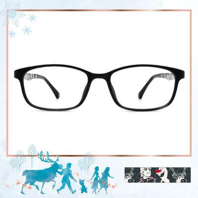 Frozen Ⅱ ★小斯離不開阿克 粗方框眼鏡▼霧面黑