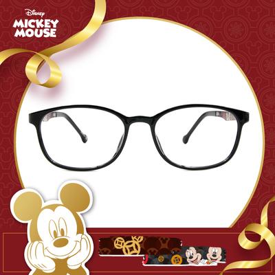 新年好運鼠不盡 l 奢華新年夜 橢圓框眼鏡▶炫影黑
