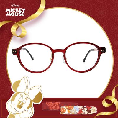 新年好運鼠不盡 l 花好月圓 圓框眼鏡▶燭光紅
