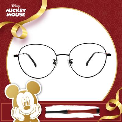 新年好運鼠不盡 l 低調點綴 波士頓框眼鏡▶金剛黑