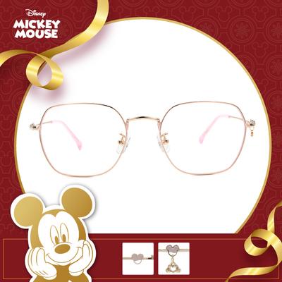 新年好運鼠不盡 l 心有所鼠 多邊框眼鏡▶櫻花粉