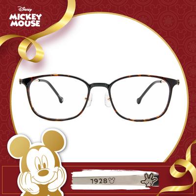 新年好運鼠不盡 l 可愛小手 方框眼鏡▶玳瑁棕