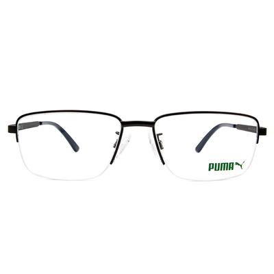 PUMA l 自我極限 眉型長方框眼鏡 l 霧灰/黛藍