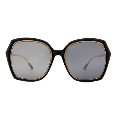 HORIEN 古典花園大方框墨鏡  ☀ 格調黑