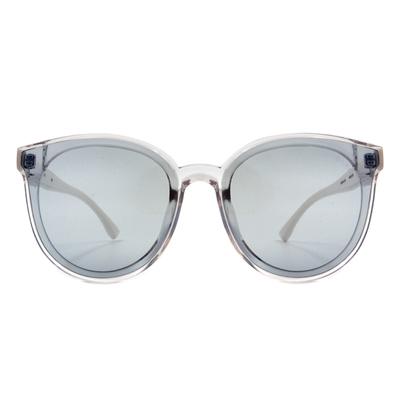 HORIEN 任性玩色晶透大圓框眼鏡墨鏡  ☀ 浮雲藍