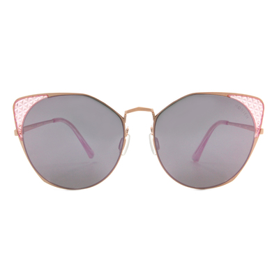 HORIEN 摩登女子菱格貓眼框墨鏡  ☀ 絢爛紫