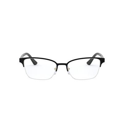 PRADA l 優雅動人氣質方型眉框眼鏡 l 女伶黑