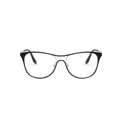 PRADA l 前衛線條勾勒波士頓框眼鏡 l 典匠黑