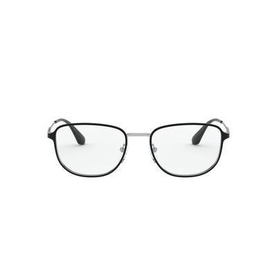 PRADA l 都會率性雙層威靈頓框眼鏡 l 鋼質灰