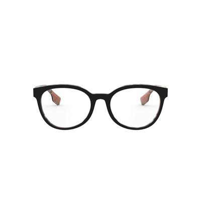 BURBERRY l 霸氣潮流波士頓粗框眼鏡 l 狂潮黑
