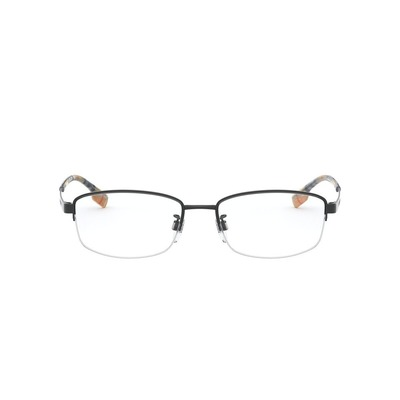 BURBERRY l 淨透視角長方眉框眼鏡 l 格調黑