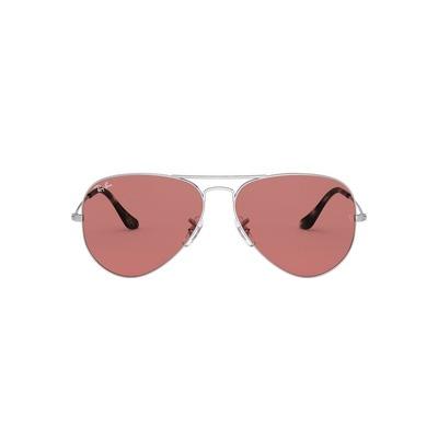 Ray Ban l 英倫細線飛官框墨鏡  l 珊瑚紅