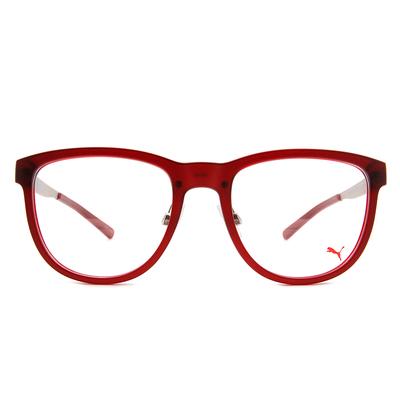 PUMA l 霸氣時尚  波士頓框眼鏡 l 大方紅