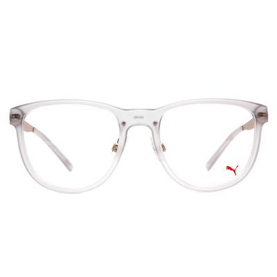 PUMA l 霸氣時尚 波士頓框眼鏡  l 霧杏灰