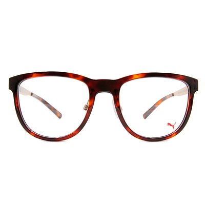 PUMA l 霸氣時尚 波士頓框眼鏡 l 歐美棕