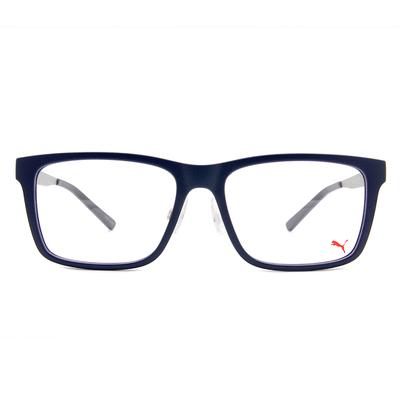 PUMA l 美學新章 威靈頓框眼鏡 l 牛仔藍