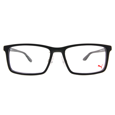 PUMA l 美學新章 威靈頓框眼鏡 l 啞光黑