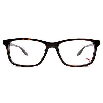 PUMA l 專注視野 威靈頓框眼鏡 l 亞麻綠