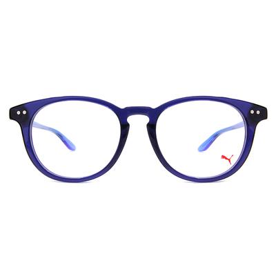 PUMA l 前衛獨特 波士頓框眼鏡 l 冰川藍