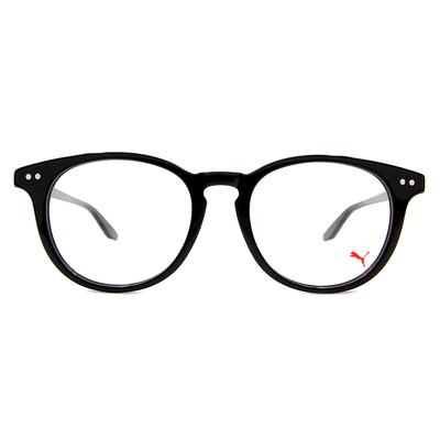 PUMA l 前衛獨特 波士頓框眼鏡 l 紳士黑