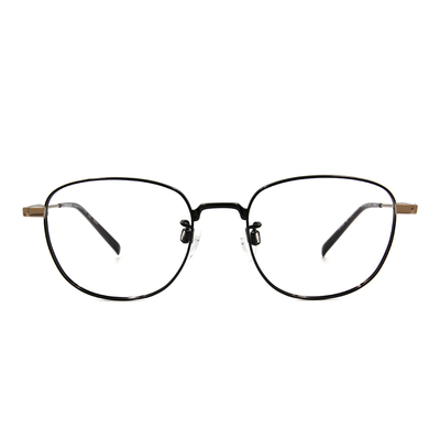 CHARMANT  學羽氣質多邊框眼鏡 ▏氣質黑