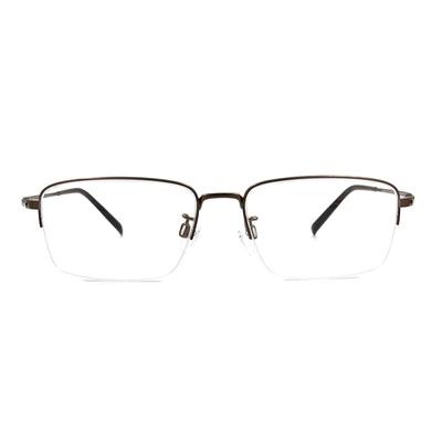 CHARMANT  透視曲線方型眉框眼鏡 ▏古銅金