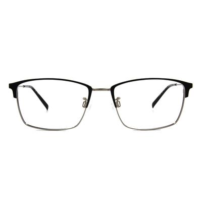 CHARMANT  專注型眉方框眼鏡 ▏博學灰