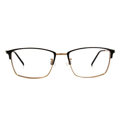 CHARMANT  專注型眉方框眼鏡 ▏典藏金
