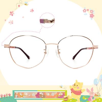 Disney花現春天│奇奇蒂蒂賞花趣 多邊框眼鏡✿紫戀金