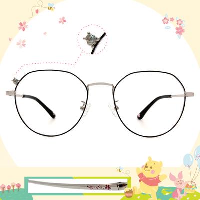 Disney花現春天│仰望維尼精緻多邊框眼鏡✿寶藏銀