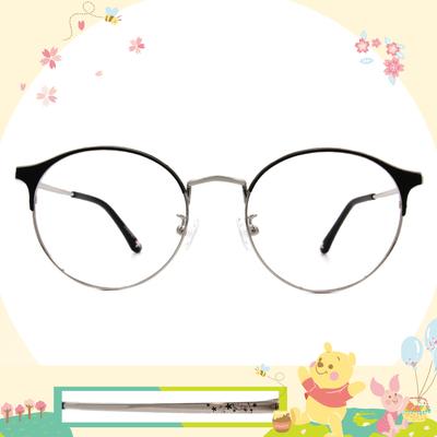 Disney花現春天│斑比之愛 圓型眉框眼鏡✿深邃黑