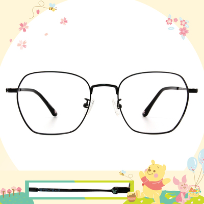 Disney花現春天│綻放米奇 方框眼鏡✿爵士黑