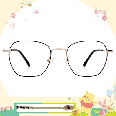 Disney花現春天│綻放米奇 方框眼鏡✿潮金黑