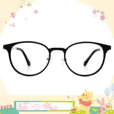 Disney花現春天│花瓣片片 波士頓框眼鏡✿氣質黑