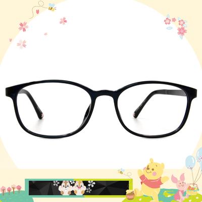 Disney花現春天│奇奇蒂蒂愛俏皮 方框眼鏡✿夜空藍