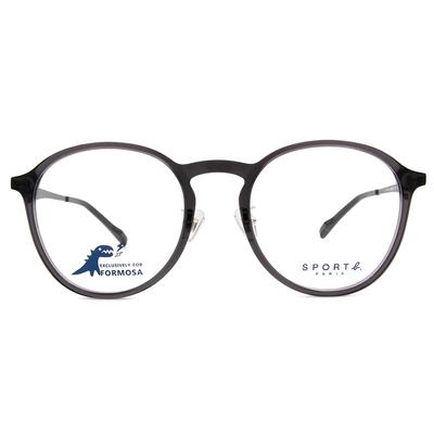 SPORT b.│法式浪漫星星圓框眼鏡★時尚黑