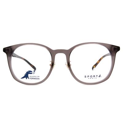 SPORT b.│深邃渲染造型貓眼框眼鏡★灰/玳瑁棕