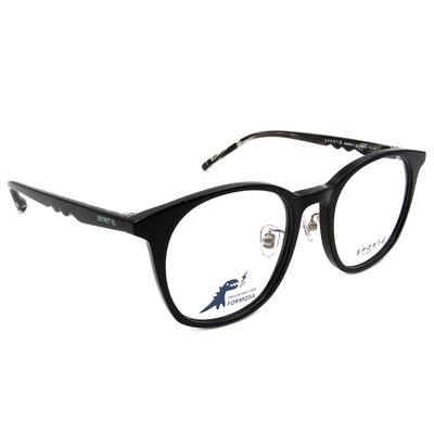 SPORT b.│深邃渲染造型貓眼框眼鏡★寧靜黑