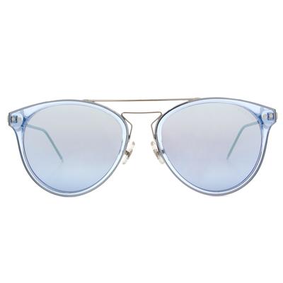 HORIEN 流行都會細質圓框墨鏡  ☀冰川藍