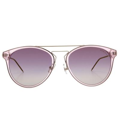 HORIEN 流行都會細質圓框墨鏡  ☀水晶紫