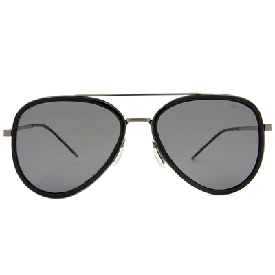 HORIEN 品味簡約飛官框墨鏡  ☀沉穩黑